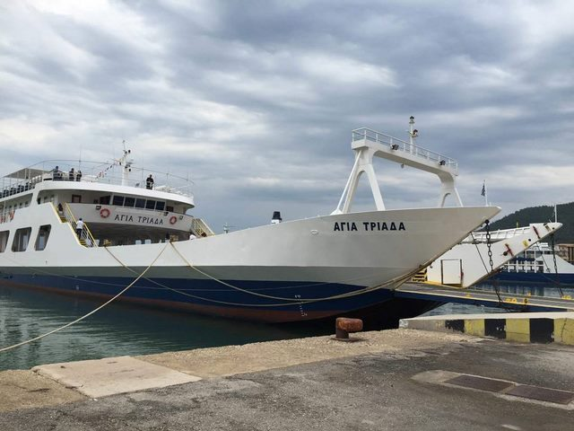 fb agia triada kerkyra lines - corfu ferries